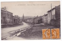 Autrecourt , Entrée Du Village , Venant De Raucourt - France