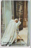 VATICAN - SCV-063 - PORTA SANTA - KAROL WOJTYLA - POPE - PAPA - MINT - Vaticano