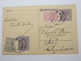 1925 , WIEN  , Klarer Stempel Auf Ganzsache Nach Prag - Briefe U. Dokumente
