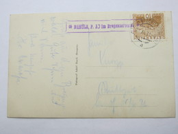 1931 , DAMÜLS - Au Im Bregenzerwald  , Klarer Stempel  Auf Karte - Briefe U. Dokumente