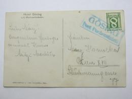 GÖSING   Post Puchenstuben  , Klarer Stempel  Auf Karte - Briefe U. Dokumente