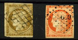 Francia Nº 1 Y 5. Año 1850 - 1849-1850 Ceres