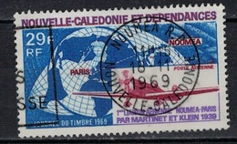 NOUVELLE CALEDONIE            N°  YVERT   PA  102   ( 3 )    OBLITERE       ( Ob  4/ 14 ) - Airmail