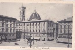 FIRENZE PIAZZA VITTORIO EMANUELE  AUTENTICA 100% - Firenze