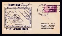"US Navy, USS""ASVILLE"" (PG-21) 1938,Cachet,Shanghai,SUNK3.3.1942  LOW PRICE !! Look Scan !! 13.11-18 - Ships"