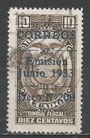 Ecuador 1933. Scott #318 (U) Coat Of Arms * - Equateur
