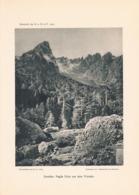 065 B Korsika Corse Paglia Orba Virotale Kunstblatt 1903!! - Andere