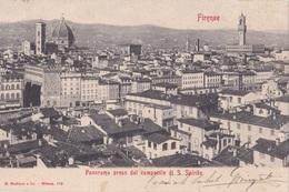 FIRENZE PANORAMA PRESO DAL CAMPANILE DI S. SPIRITO VG AUTENTICA 100% - Firenze