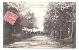 St. Germain En Laye (78-Yvelines)  Le Passage à Niveau De La Route De Poissy - Tramway - St. Germain En Laye