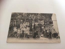 BN - 1400 - BOUQUET PROVINCIAL DE BRAINE (Aisne), 25 Mai 1913 - Pendant La Messe - Tir à L'Arc