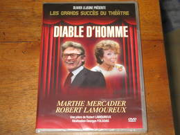 DVD THEATRE : DIABLE D'HOMME Avec Marthe MERCADIER & Robert LAMOUREUX /pIèce De Robert LAMOUREUX  (neuf) - Sci-Fi, Fantasy