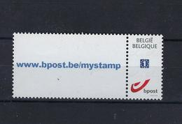 DOUSTAMP Www.bpost.be/mystamp MNH ** POSTFRIS ZONDER SCHARNIER SUPERBE - Belgique