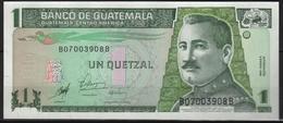 B42 - GUATEMALA Billet De 1 Quetzal 1er Choix - Guatemala