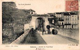 1649-2019    CAHORS   ENTREE DU PONT NEUF - Cahors