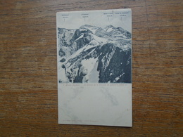 Le Glacier De La Cascade De Gavarnie - Gavarnie