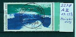 BUND---Nr 2278 A II , Moirebildung  Gestempelt - Gebraucht