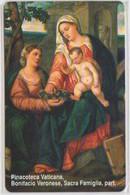 VATICAN - SCV-112 - BONIFACIO VERONESE,SACRA FAMIGLIA - MINT - Vatican