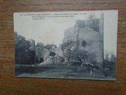 Le Monteil-au-vicomte , Ruines Du Château Ou Naquit Pierre D'aubusson - Sonstige Gemeinden