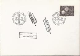 """Sweden 1971 Coins From 1568, So-called """"Wadstena Cliffs"""", Silver, Mi 701 FDC - Schweden"""