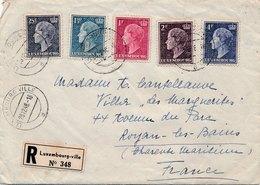Lettre Recommandée Luxembourg Pour La France - Luxemburg