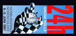 Aufkleber, Sticker,  24  H Nürburgring, New , RARE ,look Scan !! 13.11-10 - Pins