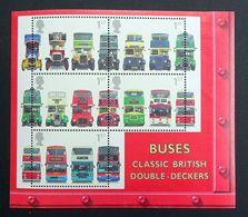 GB QEII 2001 SG.MS2215 Buses Miniature Sheet Mint Hinged. - Blocchi & Foglietti