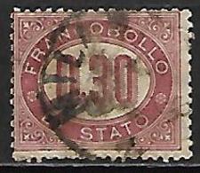 ITALIE    -    Service   -    1875 .   Y&T N° 4 Oblitéré . - Servizi
