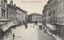 Drome : ROMANS-sur-ISERE : Place De La République - Romans Sur Isere