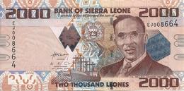 SIERRA LEONE 2000 LEONES 2010 UNC P 31 - Sierra Leona