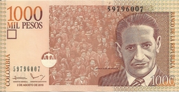 COLOMBIE 1000 PESOS 2016 UNC P 456 R - Colombia