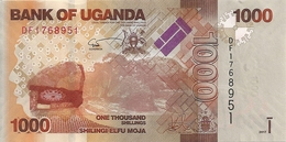 OUGANDA 1000 SHILLINGS 2017 UNC P 49 E - Uganda