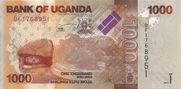 OUGANDA 1000 SHILLINGS 2017 UNC P 49 E - Ouganda