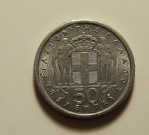 Greece 50 Lepta 1964 Varnished - Grèce
