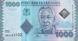 TANZANIE 1000 SHILINGI ND2015 UNC P 41 B - Tanzanie