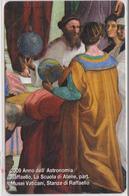 VATICAN - SCV-169 - 2009 ANNO DELL' ASTRONOMIA RAFFAELLO, LA SCUOLA DI ATENE -  MINT - Vatican
