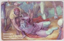 VATICAN - SCV-170 - MICHELANGELO CONVERSIONE DI SAN PAOLO -  MINT - Vatican
