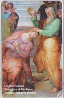 VATICAN - SCV-171 - LORENZO SABATINI GUARIGIONE DI SAN PAOLO -  MINT - Vatican