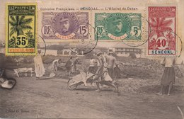 Carte Hôpital Dakar Senegal Serie Palmier Faidherbe - Sénégal (1887-1944)