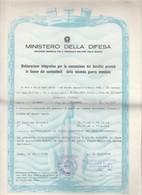 Ministero Della Difesa - Marina - Dichiarazione - Documenti