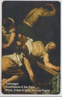 VATICAN - SCV-176 - CARAVAGGIO CROCIFISSIONE DI SAN PIETRO -  MINT - Vatican