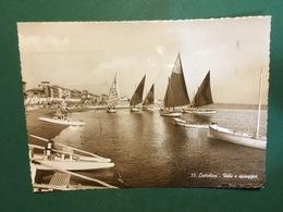 Cartolina Cattolica - Vele E Spiaggia - 1939 - Rimini