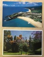 POSTCARDS X2=USA=HAWAII=SHERATON-MAUI HOTEL=UNIVERSITY Of WESTERN AUSTRALIA=WINTHROP HALL From The GREAT COURT=UNUSED - Perth