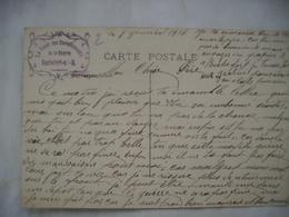 Foyer Des Convalescents De La Guerre Sur Carte Rochefort Sur Mer - 1877-1920: Semi-moderne Periode