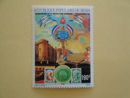 1989 Bénin Yv 674 ** MNH Révolution Française   Cote 3.00 € Michel 484  Scott 662   Philexfrance 89 - Bénin – Dahomey (1960-...)
