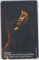 VATICAN - SCV-180 - CARAVAGGIO AUTORITRATTO PART. DAL MARTIRIO DI SAN MATTEO - MINT - Vatican