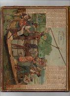 Calendrier Almanach Des Postes Et Télégraphes 1891 Oberthur Le Bac - Calendriers