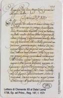 VATICAN - SCV-192 - LETTERA DI CLEMENT XII AL DALAI LAMA - MINT - Vatican