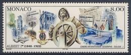 Monaco 1997 Mi 2392 SG 2353 ** Albert I Statue / Fürst Albert I. Als Steuermann (Denkmal) - Newspapers / Zeitungen - Monumenten