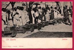 Loanda - Peixeiras - Marché - Pêche - Porteur - Animée - Edit. OSORIO & SEABRA - Angola