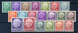 1957 SARRE SET MNH ** - 1957-59 Federazione